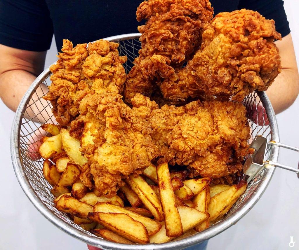przepis na smażonego kurczaka