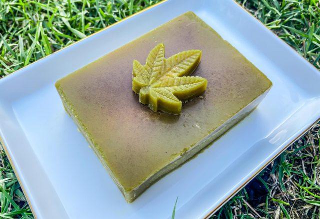 dozowanie THC w maśle z medyczną marihuaną