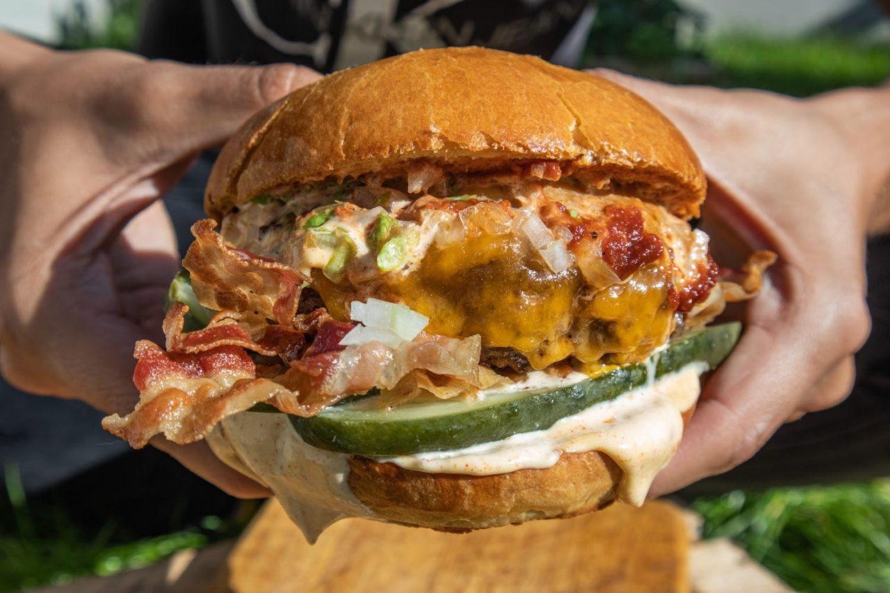 przepis na cheeseburgera