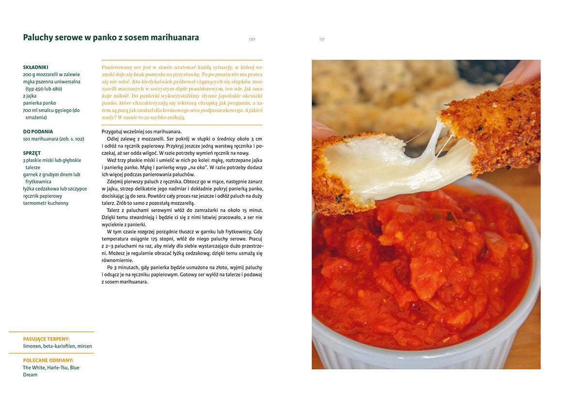 konopne gotowanie paluchy serowe